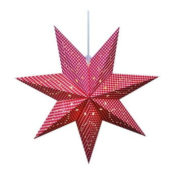 Decorațiune suspendată luminoasă Markslöjd Gulli, ø 45 cm, roșu