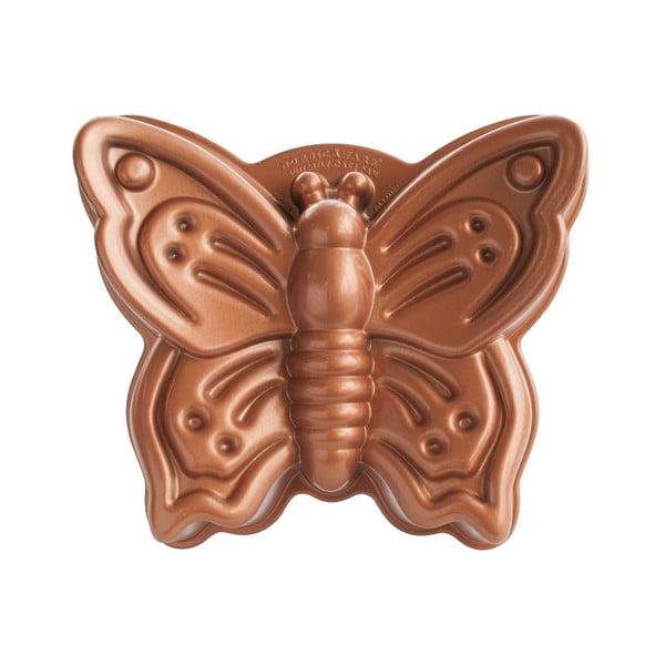 Forma na babkę w kształcie motyla w miedzianym kolorze Nordic Ware Butterfly, 2,1 l