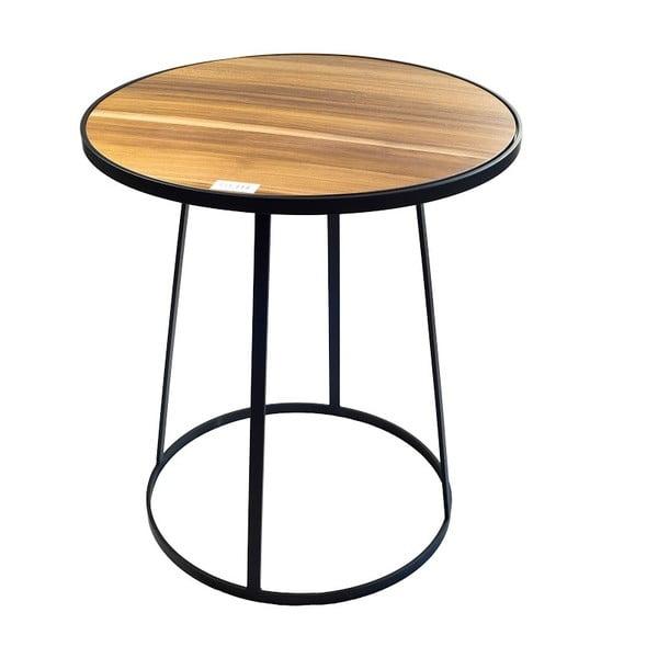 Odkládací stolek Bloom Walnut