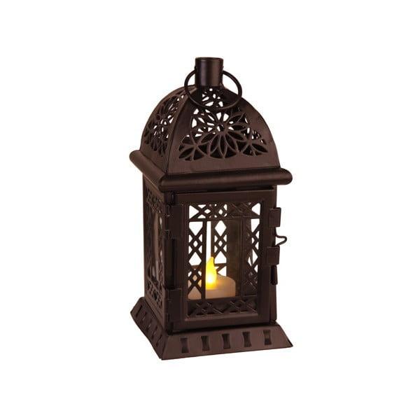 LED lucerna Lantern 20 cm, černá