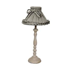 Stolní lampa Antic Line Romance Grey, 78 cm