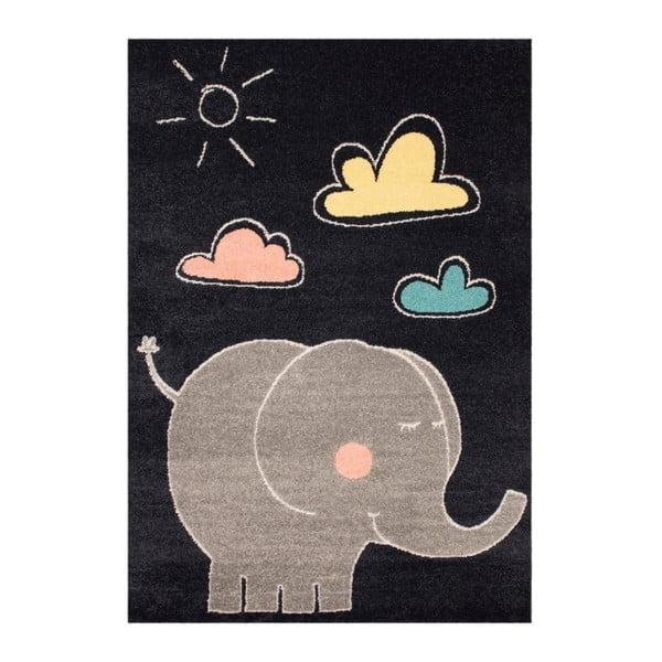 Detský koberec Zala Living Elephant, 120×170cm