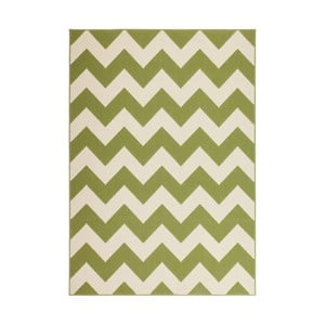 Zelený koberec Kayoom Maroc Wavo Grun, 160x230cm