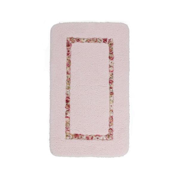 Koupelnová předložka Frenésie Pink, 65x110 cm