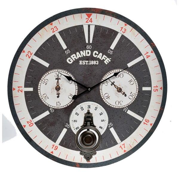 Nástěnné hodiny InArt Ocular, černé