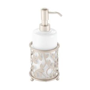 Bílý dávkovač na mýdlo iDesign Vine