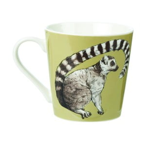 Hrnek z kostního porcelánu Churchill China Couture Kingdom Lemur, 325 ml