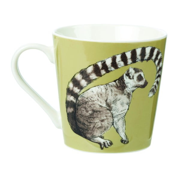 Hrnek z porcelánu Churchill China Couture Kingdom Lemur, 325 ml