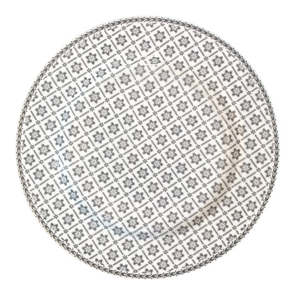Talíř Alba Pale Grey, 25,6 cm