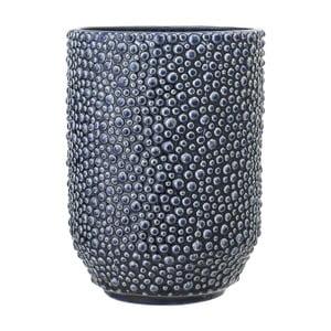 Modrá kameninová váza Bloomingville Vase