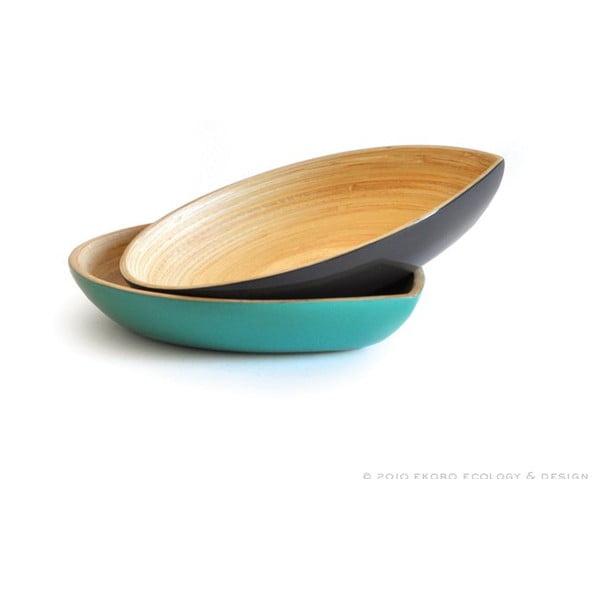 Bambusový talíř Apero Plate, červený