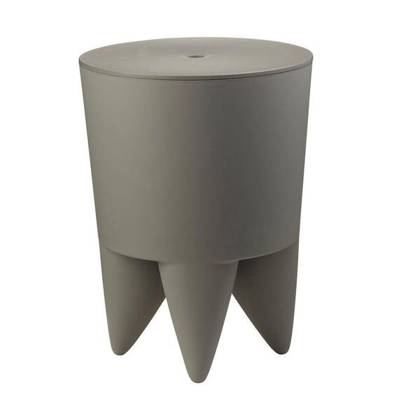 Univerzální stolek/koš/chladič na led Bubu, šedý