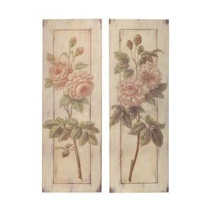 Set 2 obrazů Two Roses