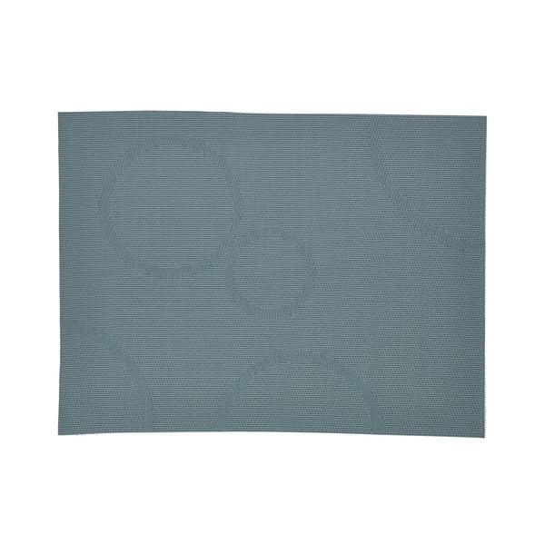 Körmintás petróleumzöld tányéralátét, 40 x 30 cm - Zone