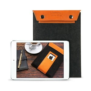 Pouzdro na iPad Mini Cognac