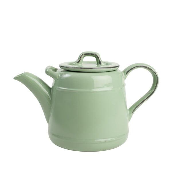 Zelená keramická čajová konvice T&G Woodware Pride Of Place,1,5l