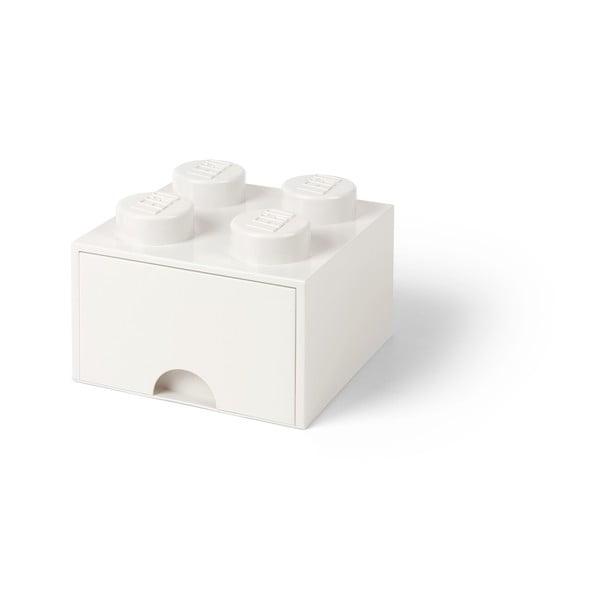 Négyszögletes fehér tárolódoboz - LEGO®