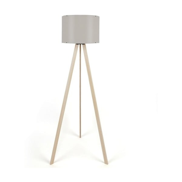 Aiden állólámpa fehér lámpabúrával - Insignio