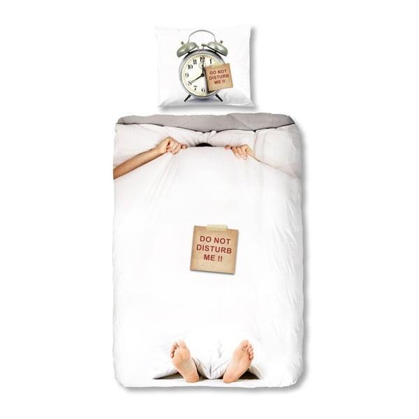 Lenjerie de pat pentru copii Muller Textiels Disturb, 135 x 200 cm, bumbac