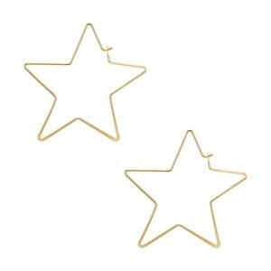 Dámské náušnice zlaté barvy Tassioni Runaway Stars