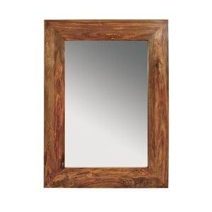Oglindă cu ramă din lemn de palisandru Massive Home Irma