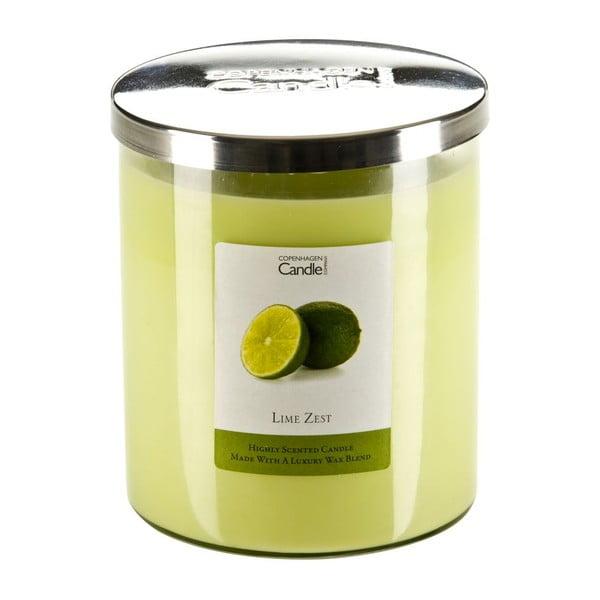 Illatgyertya lime illatban, 70 óra égési idővel - Copenhagen Candles