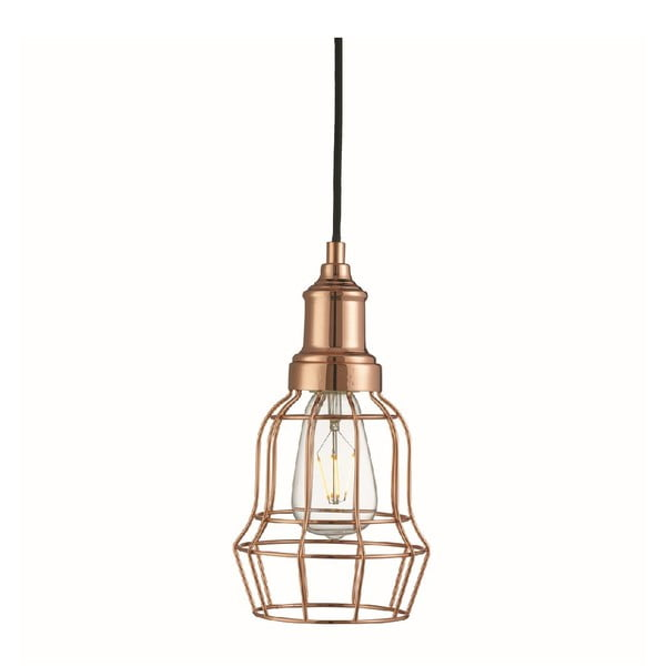 Stropní světlo Bell Cage Copper