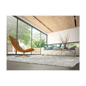 Šedokrémový koberec vhodný i na ven Universal Aloe Liso, 80 x 150 cm