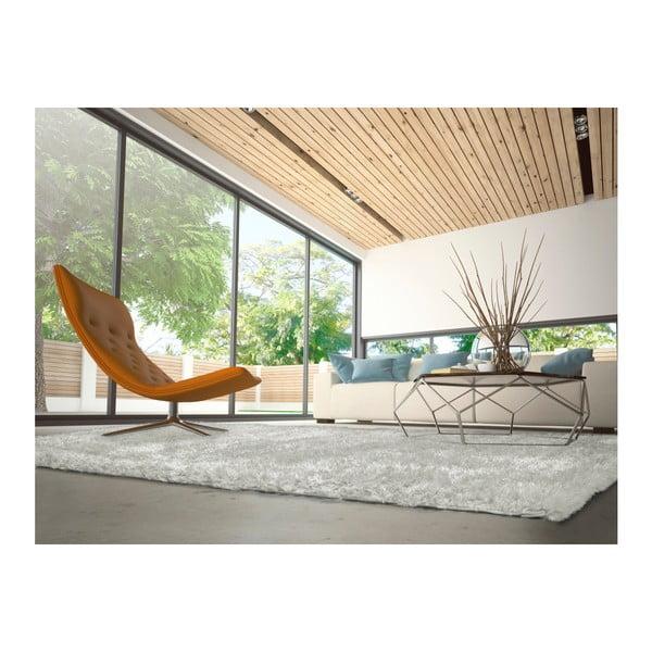 Šedokrémový koberec vhodný i na ven Universal Aloe Liso, 200 x 290 cm