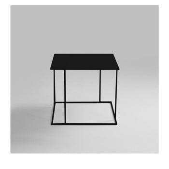 Masă auxiliară Custom Form Walt, 50 x 50 cm, negru de la Custom Form