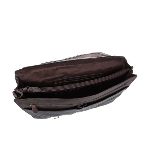 Kožená pánská taška Terrence Brown
