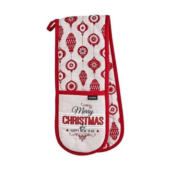Șervet dublu pentru bucătărie Ladelle Merry Christmas
