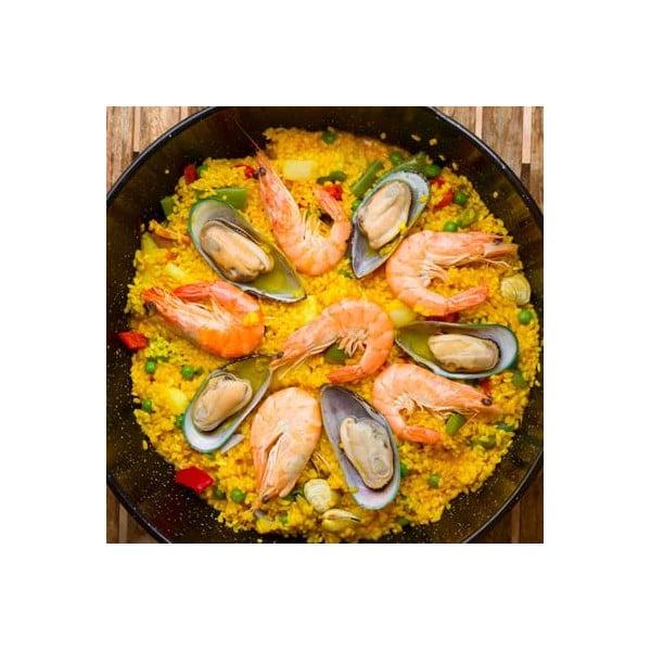 Pánev na paellu Kitchen Craft Mediterranean, ⌀46 cm