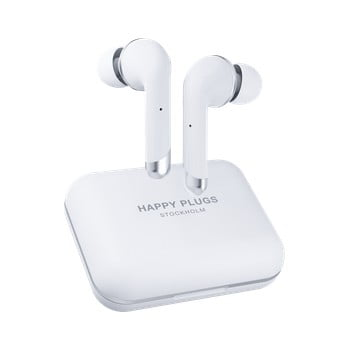 Căști wireless Happy Plugs Air 1 Plus In-Ear, alb poza
