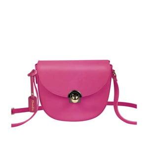 Fuchsiová kožená kabelka Maison Bag Gil