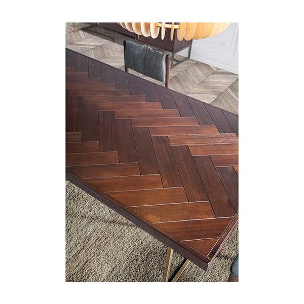 Jídelní stůl z akáciové dýhy Santiago Pons Bruno