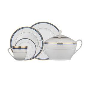 59dílná sada porcelánového nádobí Kutahya Blueline