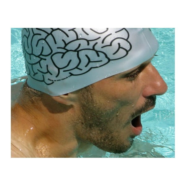Koupací čepice Mozek