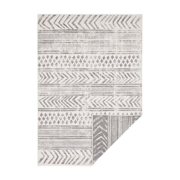 Szaro-kremowy dywan odpowiedni na zewnątrz Bougari Biri, 200x290 cm