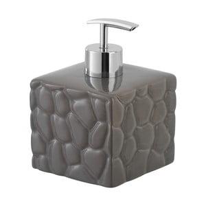 Hnědý dávkovač mýdla Feridras Dispenser Stone