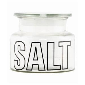 Skleněná dóza s víkem Typo Salt