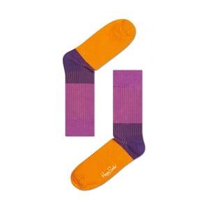 Ponožky Happy Socks Purple and Orange, vel. 36-40