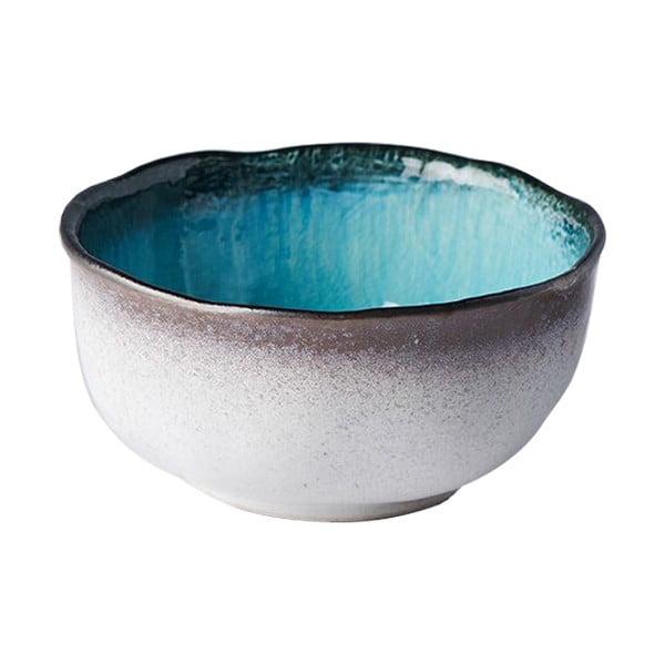 Modrá keramická miska MIJ Sky, ø15 cm