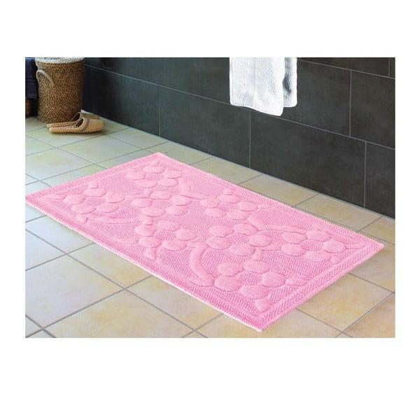 Předložka do koupelny Papatya Pink, 60x100 cm