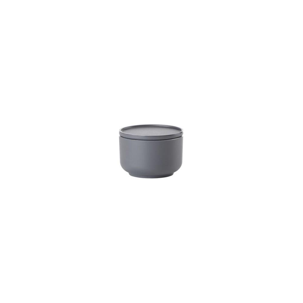 Tmavě šedá servírovací mísa s víkem ZONE Peili, 9 cm