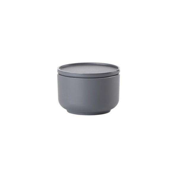 Tmavě šedá servírovací miska s víkem Zone Peili, 250 ml