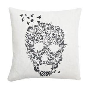 Polštář Skull Basic White, 45x45 cm