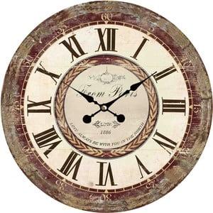 Nástěnné hodiny Flair Vintage, 34 cm