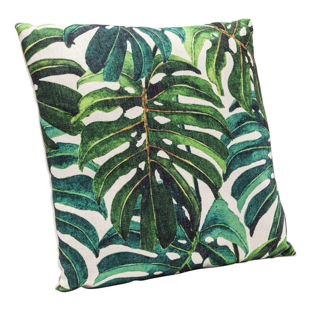 Zelený polštář Kare Design Jungle, 45x45cm