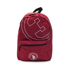 Červený pánský batoh U.S. Polo New Yorker, 30 x 44 cm
